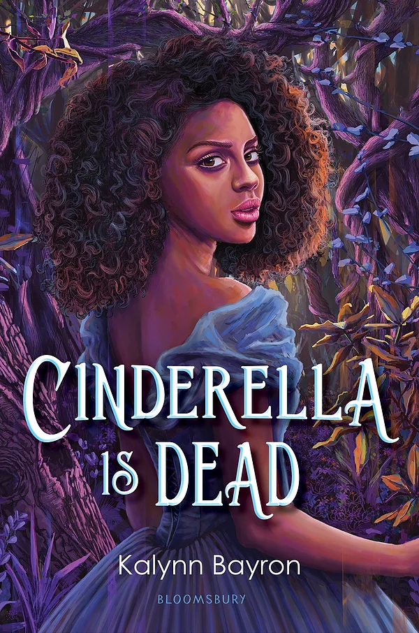 Book cover showing a Black girl in a dress, in the woods.