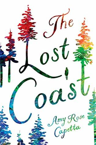 Book cover showing colorful trees.