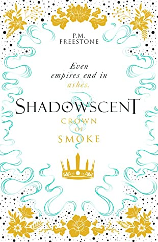 Book cover showing a crown and wisps of smoke.