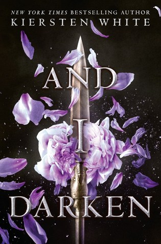 Book cover showing a spear tip piercing a flower.