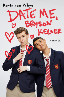 Book cover showing two guys in school uniforms.