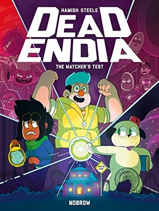 Book cover showing characters around a glowing ball.