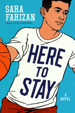 Book cover showing a boy playing basketball.