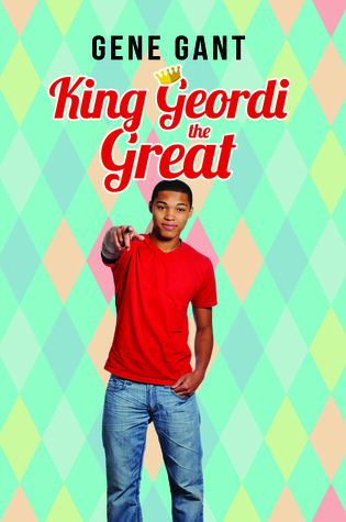 Book cover showing a black teen pointing.