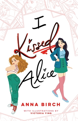 Book cover showing two girls, one with arms crossed and back turned.