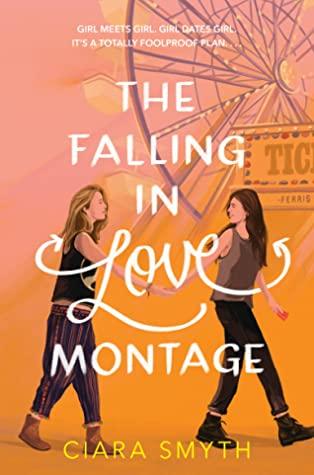 Book cover showing two girls walking near a Ferris wheel.