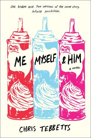 Book cover showing whipped cream canisters.