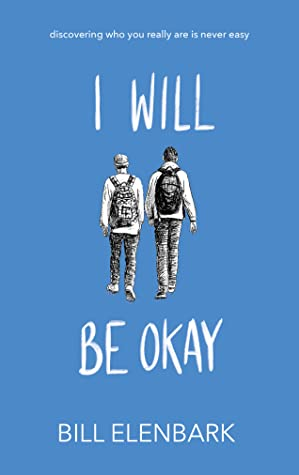 Book cover showing two boys wearing backpacks.