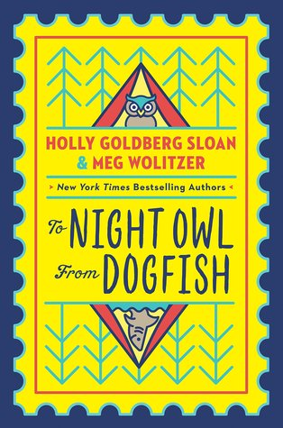 Book cover showing an owl and a dogfish.
