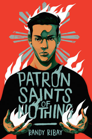 Book cover showing a boy with fire in his cupped hands.