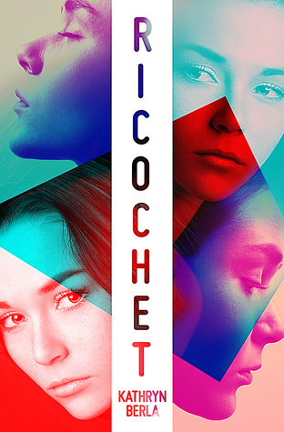 Book cover showing four girls' faces.