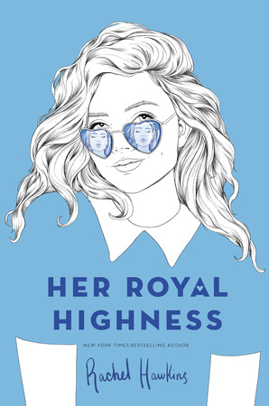 Book cover showing girl with heart-shaped sunglasses reflecting face with puckered lips.