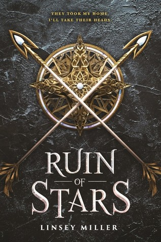 Book cover showing two arrows crossed over an ornate gold star.