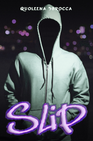 Book cover showing a figure in a hoodie, only darkness for a face.
