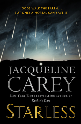 Book cover showing lights in the night sky falling to earth.