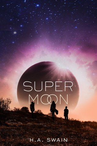 Book cover showing three silhouettes against a huge moon.