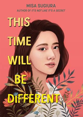 Book cover showing an Asian girl with flowers.