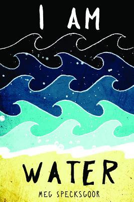 Book cover showing ocean waves.