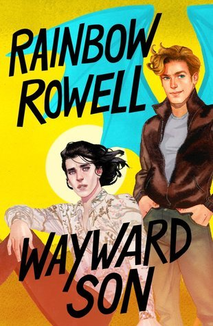 Book cover showing two characters, one in a leather jacket.