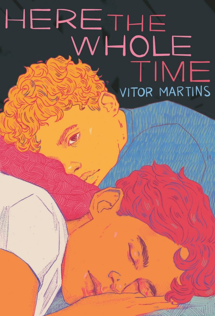 Book cover showing two boys sleeping.