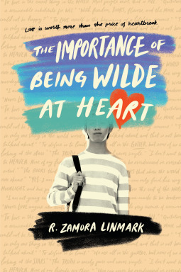 Book cover showing a person in a striped shirt.