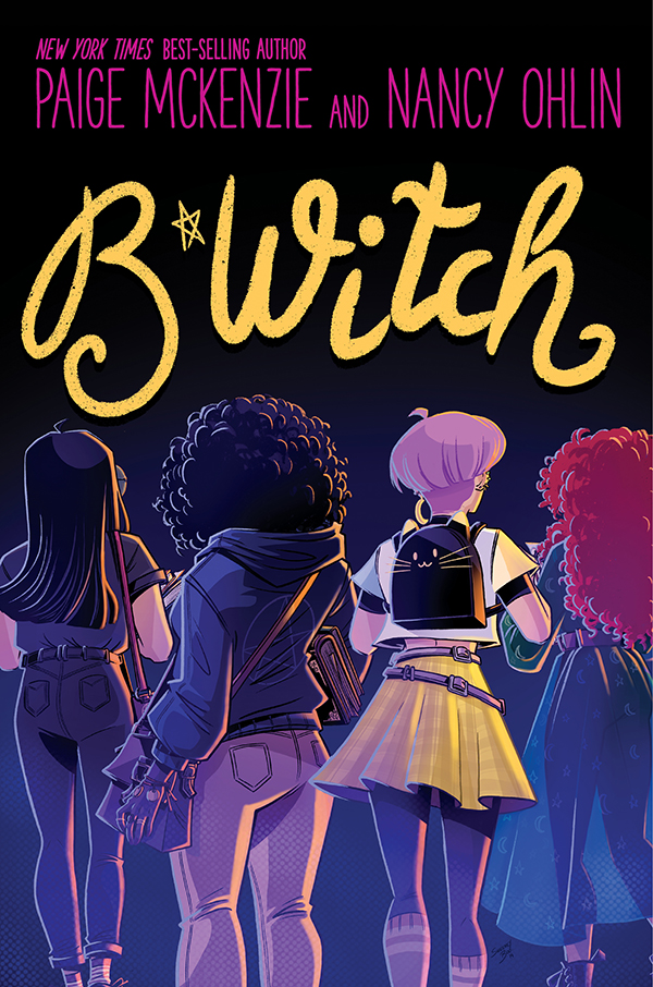 Book cover showing four girls looking away.
