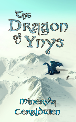Book cover showing a dragon on a snowy mountain.