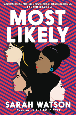 Book cover showing four girls' heads.