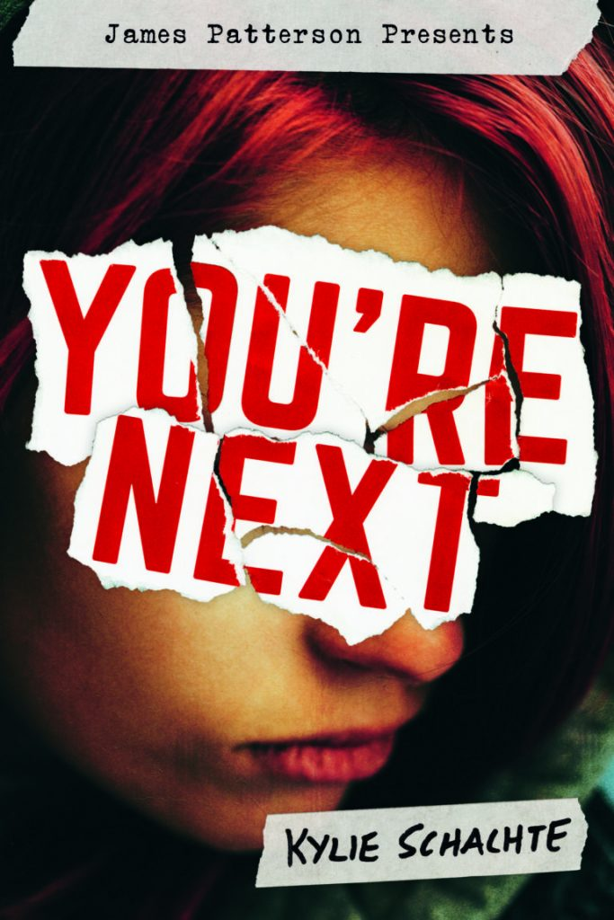 Book cover showing a girl with dyed hair, face obscured.