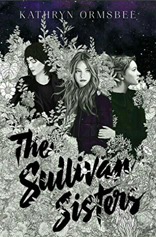 Book cover showing 3 girls surrounded by foliage under the night sky.