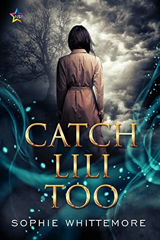 Book cover showing a character facing away, with a cloudy sky and tree in the background.